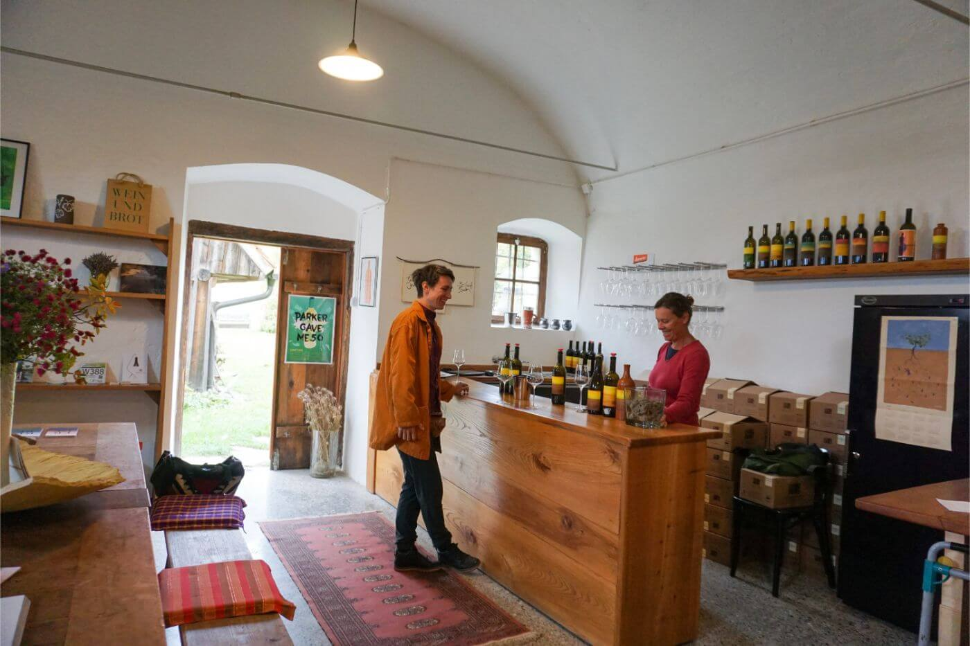 Weingut Maria and Sepp Muster, Biodynamic winery in South Styria, Austria