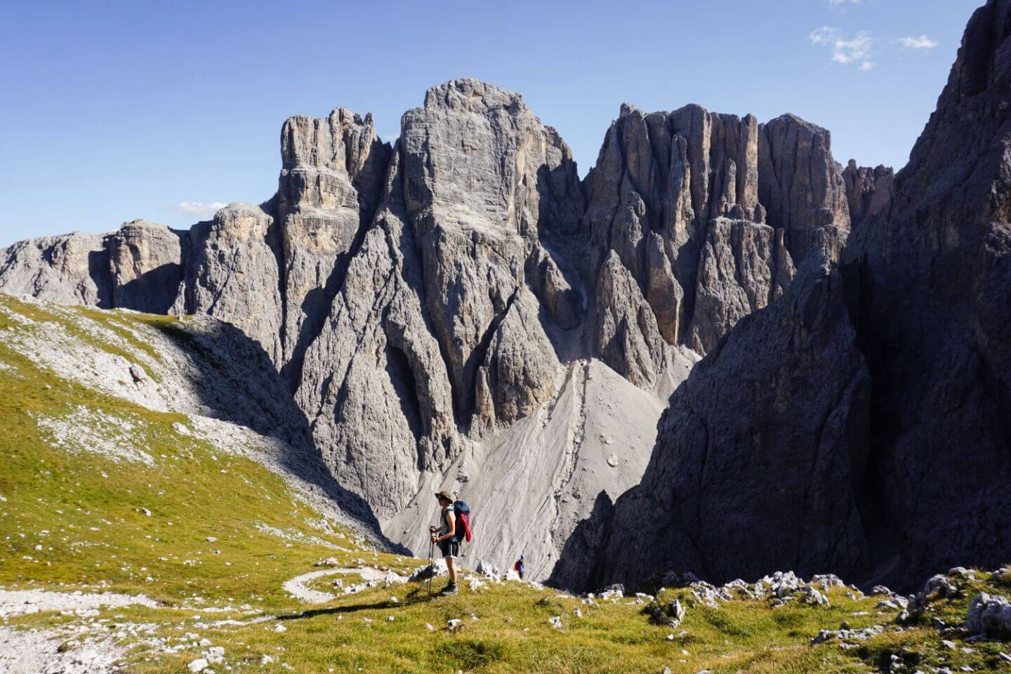 Trail 676, Cima Pisciadù, Sella Group, Italian Dolomites
