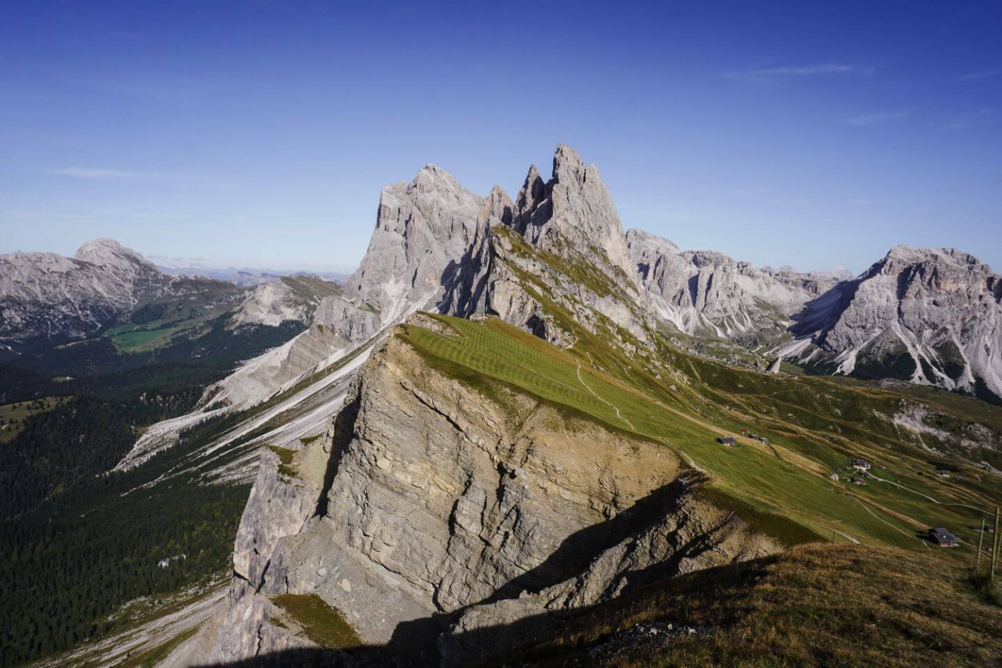 Resciesa to Seceda Hike - Best Hikes in the Dolomites