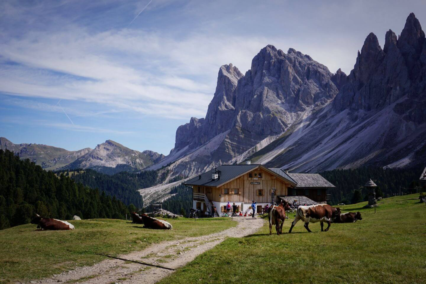 Best Day Hikes in the Dolomites, Italy: Resciesa to Malga Brogles to Seceda