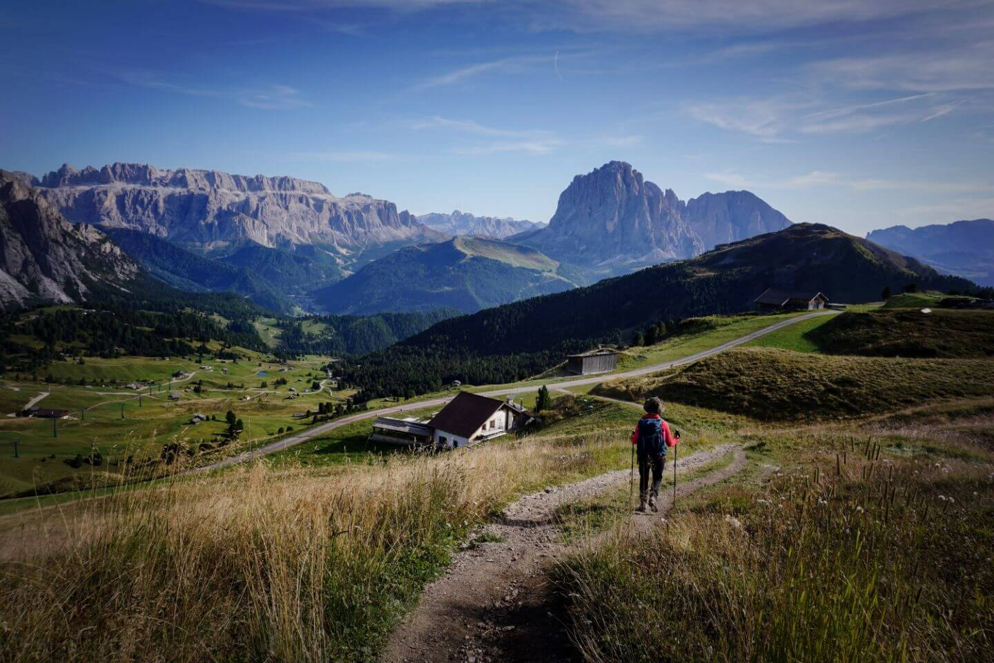 Seceda to Col Raiser, Val Gardena, South Tyrol Hike