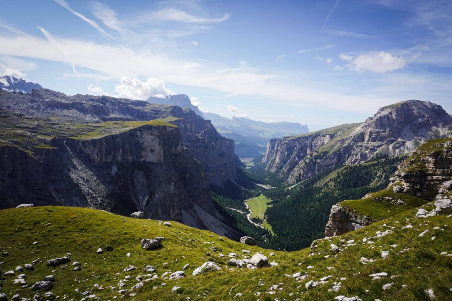 Vallunga / Langental View, Puez-Odle, Alta Badia Summer Hiking Guide