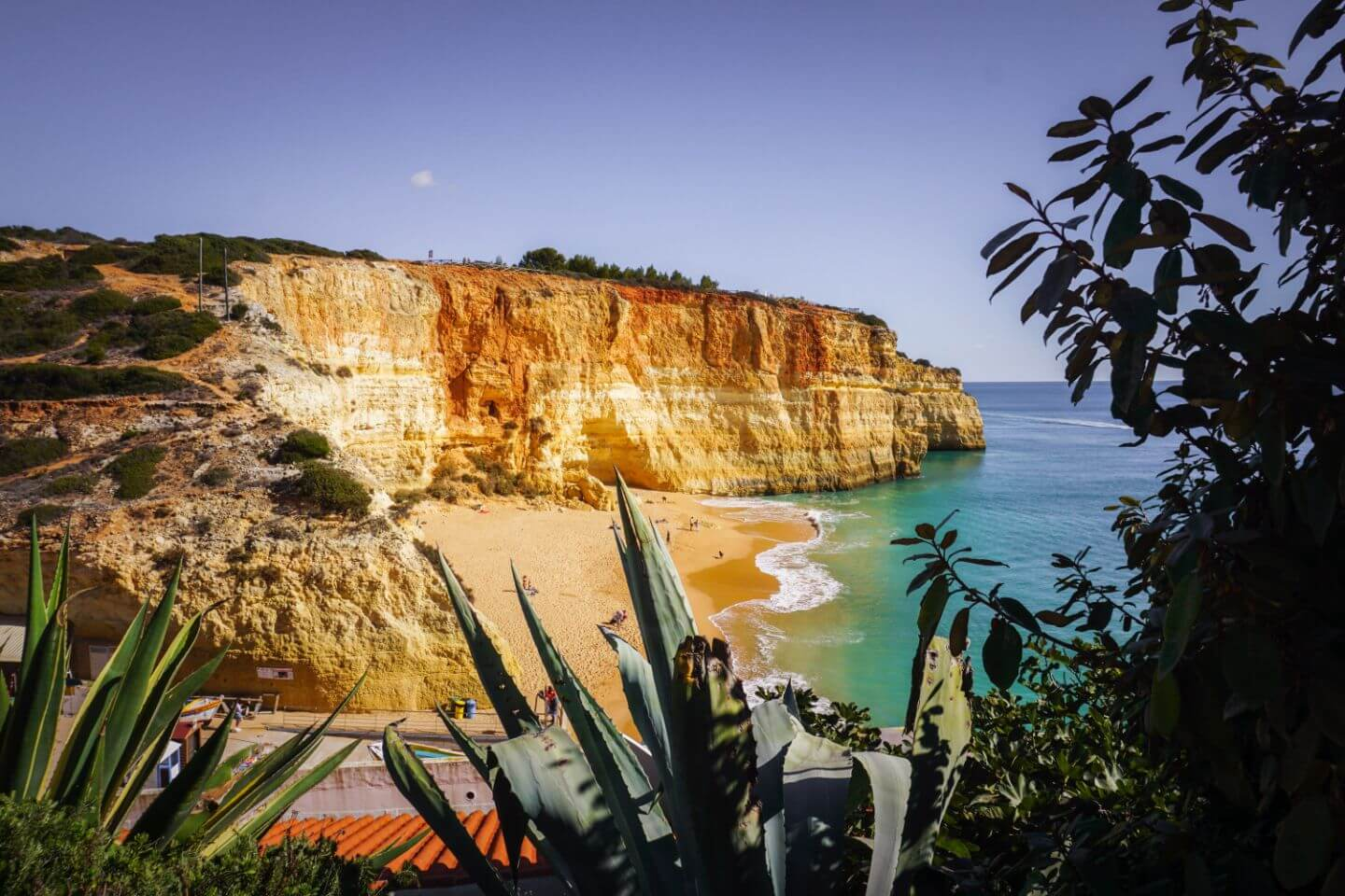 Benagil Beach, Seven Hanging Valleys Route, Algarve, Portugal
