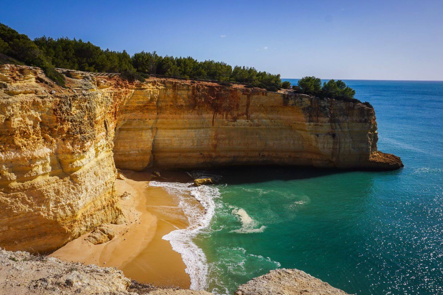 Praia da Corredoura, Seven Hanging Valleys Walk, Algarve, Portugal