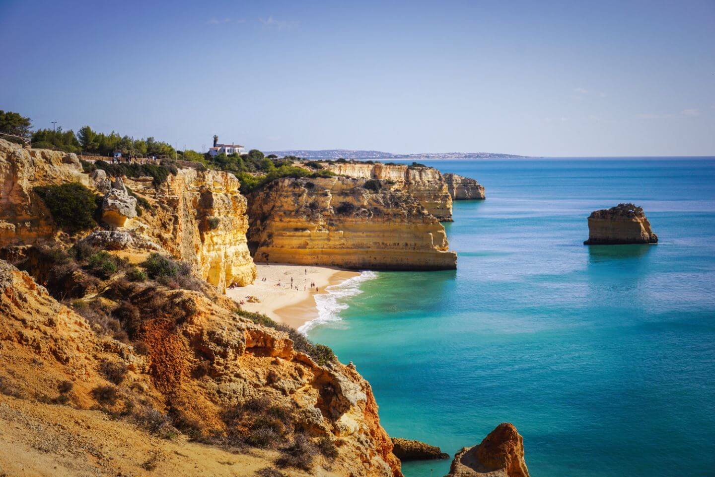 Marinha Beach, Algarve Portugal