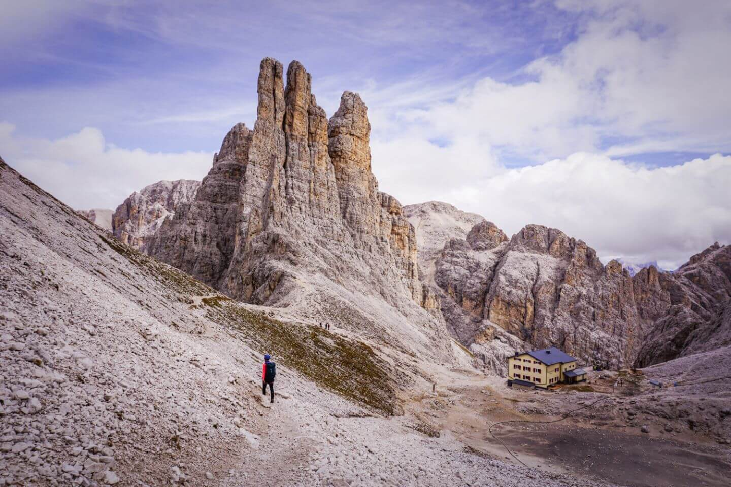 Vajolet Towers, Summer cableways in the Dolomites