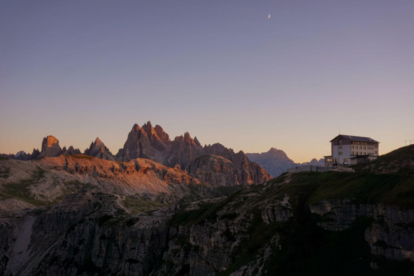Tre Cime di Lavaredeo / Three Peaks Region - Best Place to Stay in the Dolomites in Summer